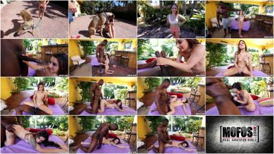 Kylie Rose — Tiny Brunette Takes BBC FullHD 1080p