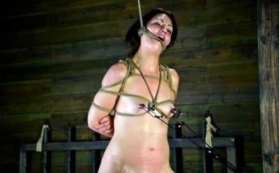 A unique rope gag