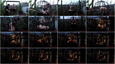 bdsm SensualPain - July 21, 2016 - Sphere Cage Fuckery at Dusk - Abigail Dupree