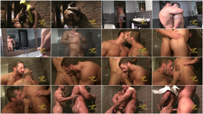 Shower And Suck Part1 - Christian Powers, Emiliano - unchained pics of roasting gay latino men fetish gay club.