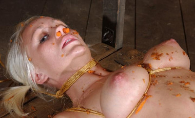 Super sexy peasant woman in BDSM