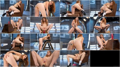 Sex Machines Cute Red Head Gets Fucked Proper
