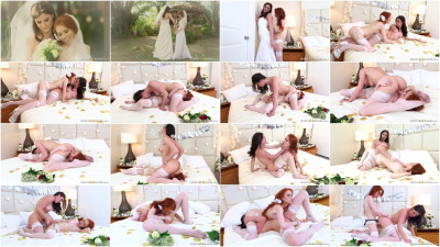 Dolly Little, Kymberlee Anne - Its A Nice Day For A White Lez Wedding (2016)