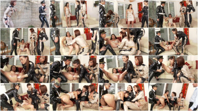 Fisting and Dildo Games girls in the police and the bad
