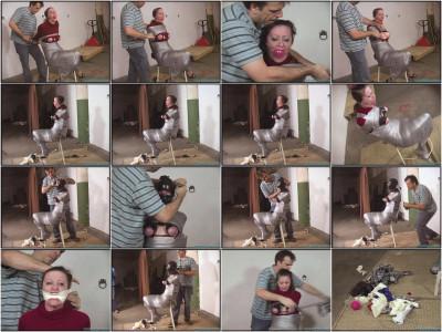 Cruel gag after gag for Serene - Part 2