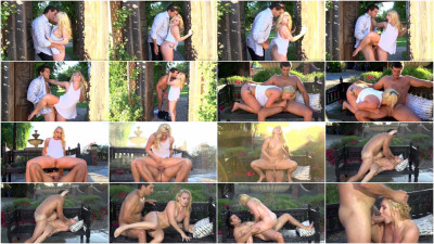 Blonde Babe AJ Applegate Gets Fucked Outside and Squirts — Sep 26, 2016