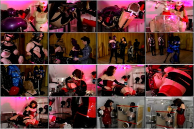 Amanda Wildefyres Rubber Slaves - Rubber Ponies #2