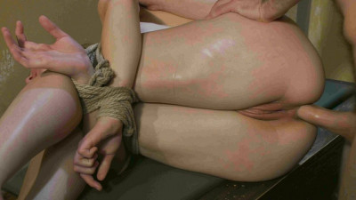Chained Fuck Slut in Action