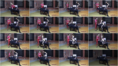Femdom and Strapon Sasha Foxxx Cow Andy Milked without Mercy (2015)