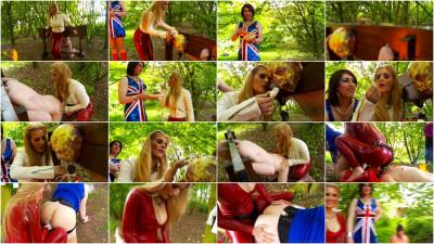 Femdom and Strapon jubilee scene 1 part 3