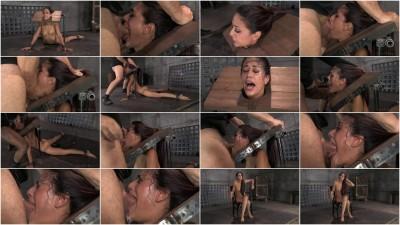SexuallyBroken Sexy brunette Lyla Storm strictly restrained