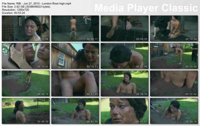 bdsm Terrible torture - London River