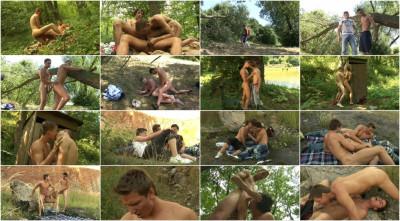 Outdoor Bareback Hikers