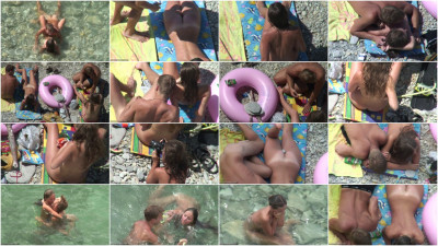 Peeped at the beach 8 - Voyeur, Nudism HD