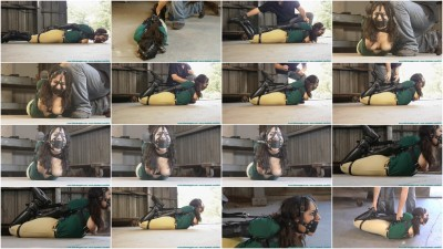 CrotchRope - Ellen Equestrian to PonyGirl - Leather - Part 3