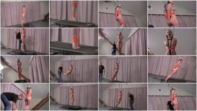 Cherry Torn Treadmill Hopper Training