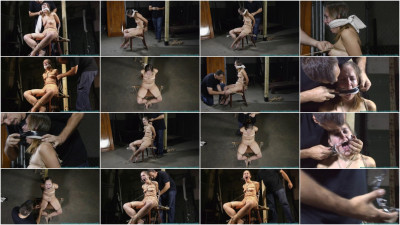 Nude Chair Tie for Rachel 2part - BDSM, Humiliation, Torture HD 720p