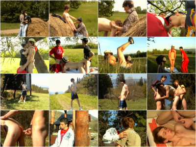 Raw Rural Rascals service gay asian twinkz!