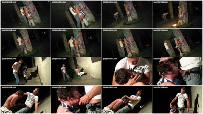 Gay BDSM Caning of a sprayer 2