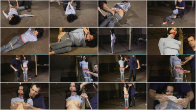 Rope  - Hannah Perez Carried, Groped, Hogtied, and Gagged Multiple Times - Part 1