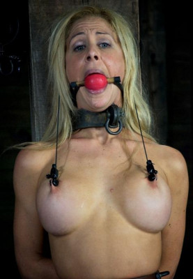Divinely Beautiful Slave In Action