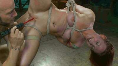 Sexy Sophia Locke Gets Brutally Fucked In Tight Bondage
