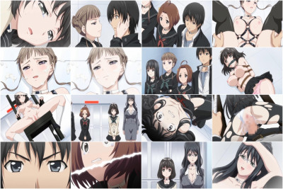 The protagonist Takatou Keisuke and 6 others are locked up in these hidden white rooms.