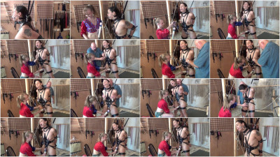Tight n Bound Bondage Spanking Whipping Part Three 10 Video