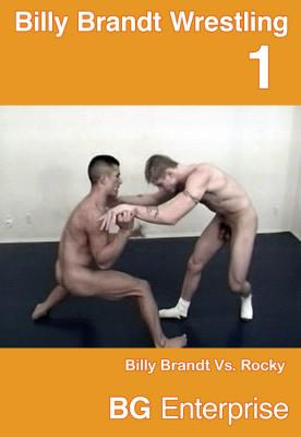 Billy Brandt Wrestling Cover Front