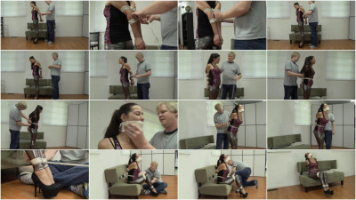 bdsm Officeperils Full Collection - Office girls tied up in string, Part 1