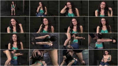 SexuallyBroken 4ft 11in Gabriella Paltrova blindfolded shackled