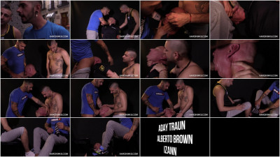 Gay BDSM Cops Hell 2 (Aday Traun, Alberto Brown, Izann)