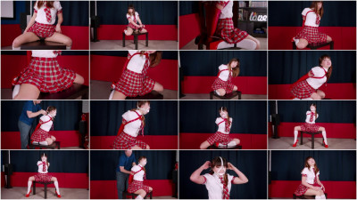 Little Red Schoolgirl