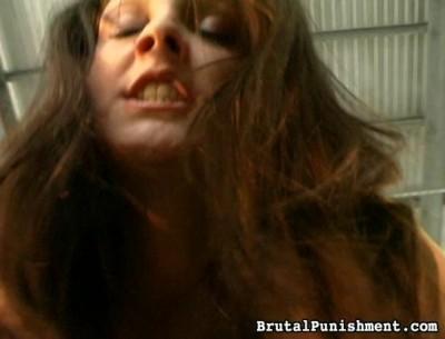 BrutalPunishment 062   Riding the Stocks Bound and Beaten