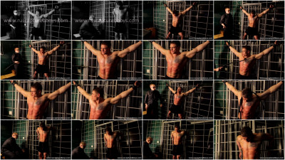 Gay BDSM Bodybuilder Vasily in Jail - Part II