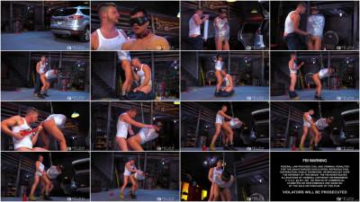 Gay BDSM FF - Bondage Garage - Brian Bonds And Eli Lewis