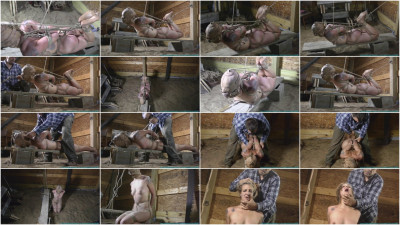 Illustrious Rouge is Welcomed Back with a Tight Crotchrope and a Hooded Hogtie part 4