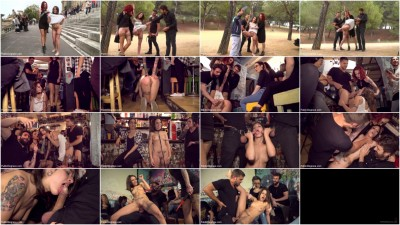 bdsm Perky Teen Alexa Nasha is Fucked in front of a Chanting Crowd - Part 2