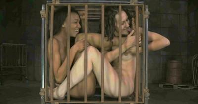 Beautiful slave tries cruel bondage - Bonnie Day, Nikki Darling