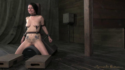 Pretty Veruca James Utterly Destroyed By Brutal Deep Throat Throat Boarded On A Sybian HD
