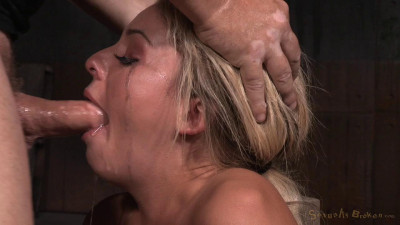 Madelyn Monroe Restrained On Vibrator And Facefucked