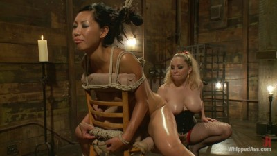 Aiden Starr & Tia Ling (Lactating Anal Whore / 04.11.2011)