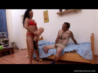 Handicap Amputee Porn With Half A Leg Screws A Hooker