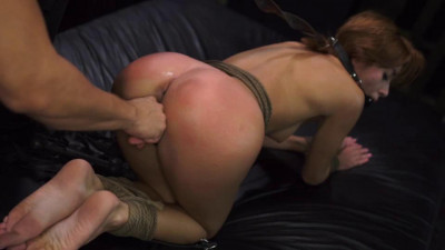Marine Angel Weell Only Get a Ride for Rope Bondage, Deepthroat BJ & Raugh Sex