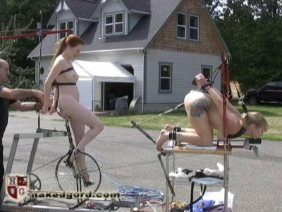 [NakedGord.com]Junkyard Fucking Machine Part 1(2010/High Heels/size 94.5 MB)
