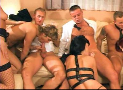 Orgy with bisexual tendencies