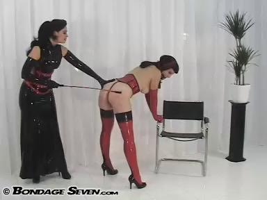 BondageSeven - Red Spanking