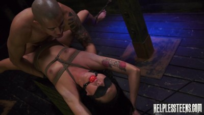 Sabrina Banks is Handcuffed for Rough Outdoor Sex Bondage (2014)
