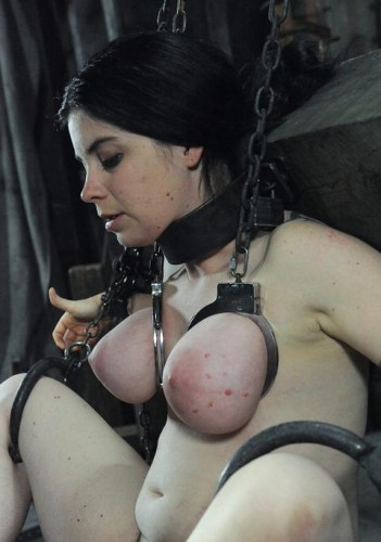 BDSM lesson with a beautiful slave