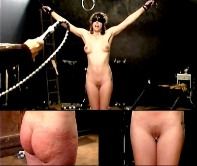Slave Kassy (Frontal Whipping) Brutal Master